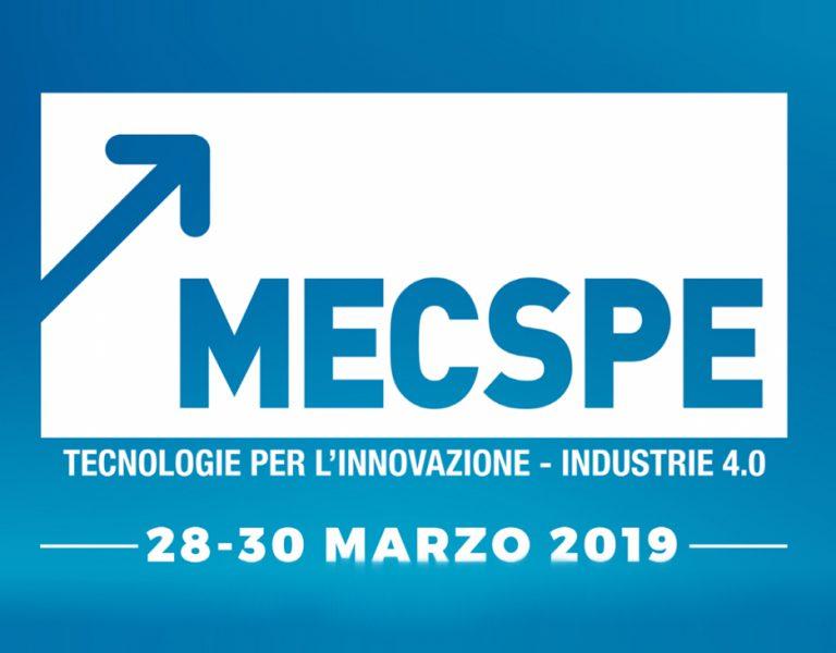 MECSPE Parma | 28-30 Marzo 2019 | Padiglione 2, Stand J46