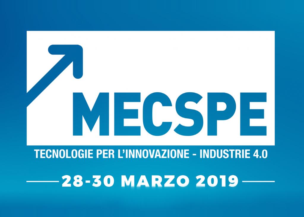 MECSPE Parma   28-30 Marzo 2019   Padiglione 2, Stand J46