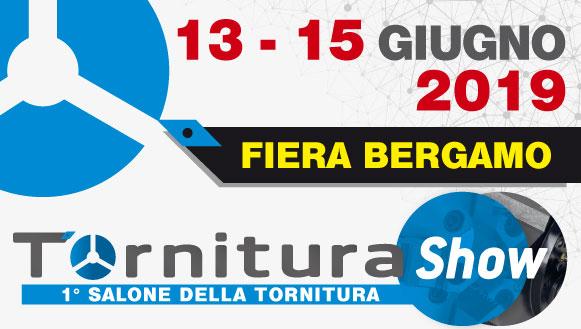 Tornitura Show Bergamo | 13-15 Giugno 2019